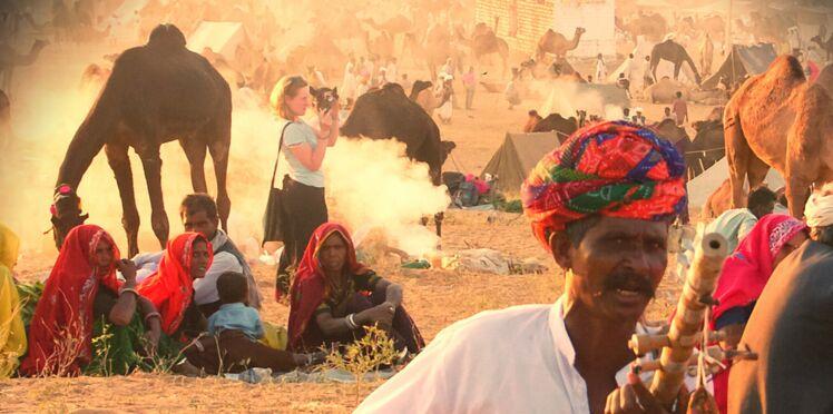 Bénévole en Inde, cette femme est tombée amoureuse d'un paysan