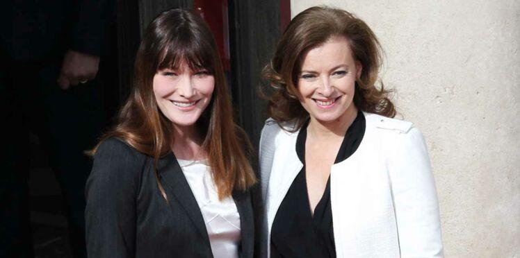 Carla Bruni et Cécilia Attias mouchent Valérie Trierweiler