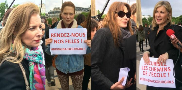 Carla Bruni et Valérie Trierweiler réunies pour la libération des lycéennes nigérianes