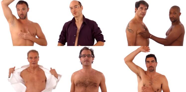 L'initiative de fin d'année que l'on adore : contre le cancer du sein, les hommes tombent la chemise