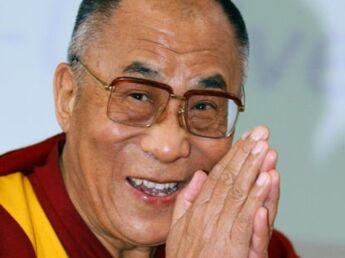 Le Dalaï Lama en visite à Paris