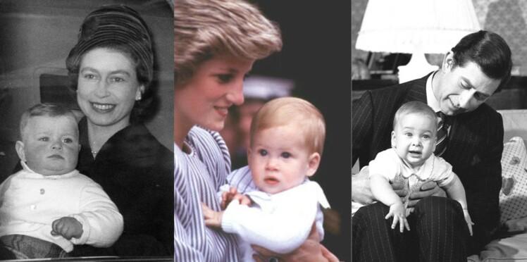 De la reine Elizabeth à la princesse Charlotte : un siècle de royal babies