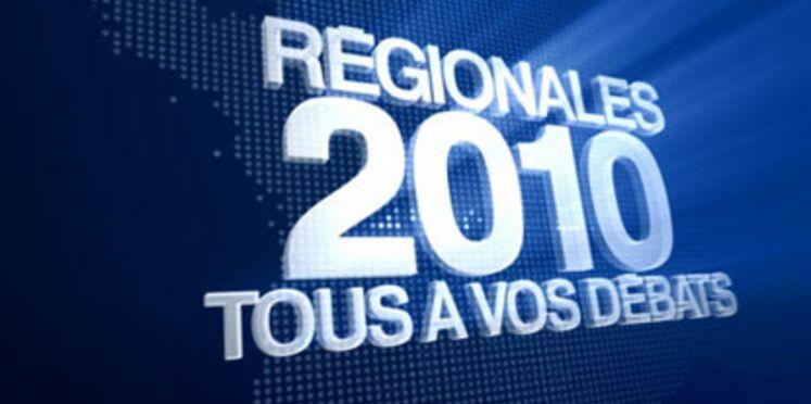 Elections régionales : débats et résultats en direct à la télévision