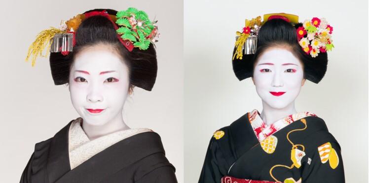 Ces jeunes femmes apprennent à devenir geishas