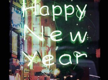 """Envoyer une e-card pour souhaiter """"Bonne année"""""""