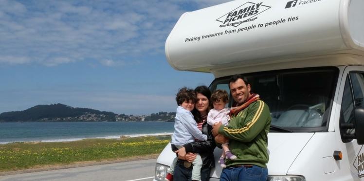 En camping et en famille, ils sillonnent l'Europe