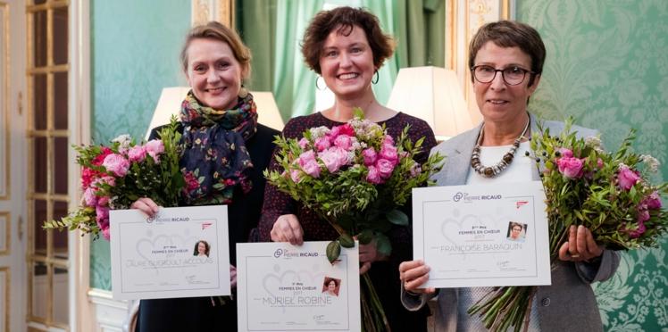Femmes en choeur 2018 avec Dr Pierre Ricaud: engagée dans une association, ce prix est le vôtre!