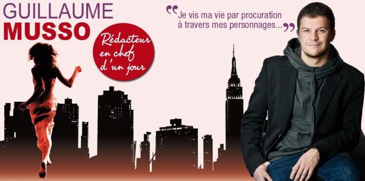Guillaume Musso, notre rédacteur en chef d'un jour