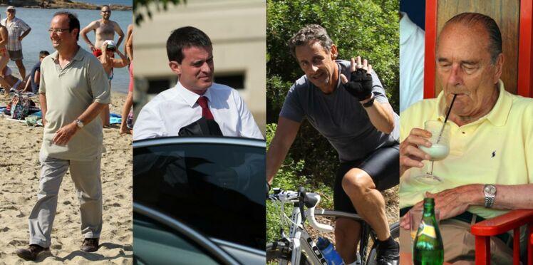 Hollande, Valls, Sarkozy, Chirac...Qu'est ce que tu fais pour les vacances?