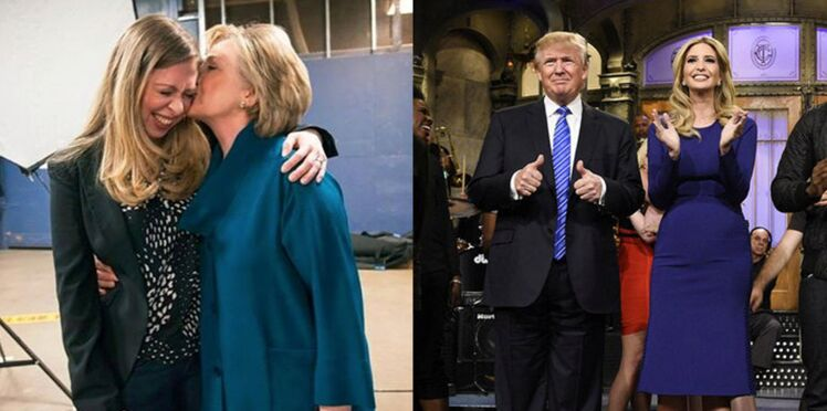 Ivanka Trump, Chelsea Clinton: les filles des candidats au coeur de l'élection