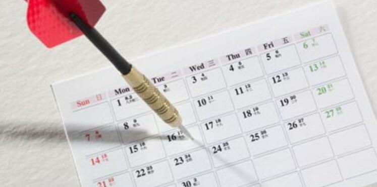 Le calendrier des jours fériés pour 2009