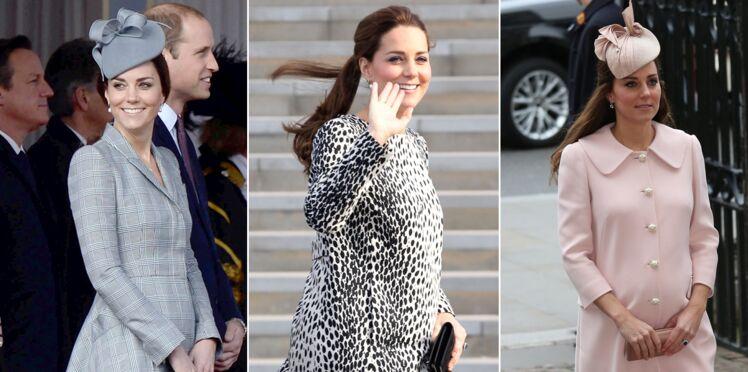 Kate Middleton : toutes les photos de sa deuxième grossesse
