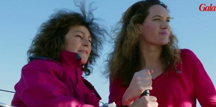 La première rencontre entre Camille Muffat et Florence Arthaud (vidéo)