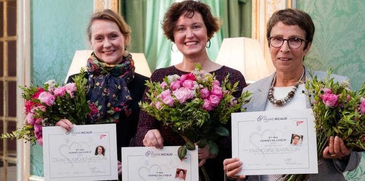 Voici les lauréates du prix Femmes en Choeur Dr Pierre Ricaud