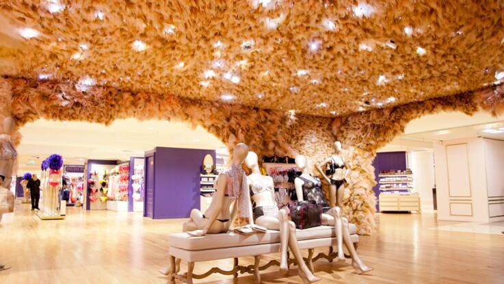 Le nouvel espace lingerie des Galeries Lafayette crée par Stella Cadente