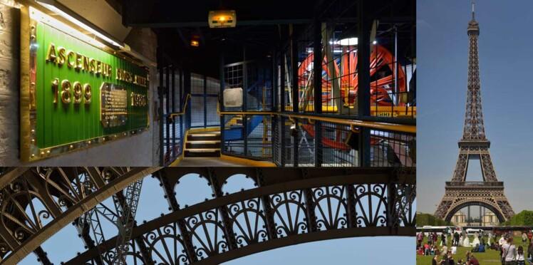 Dans les coulisses du rêve en photos : la Tour Eiffel