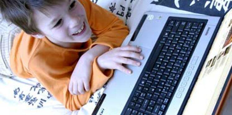 Les enfants sans surveillance sur le net
