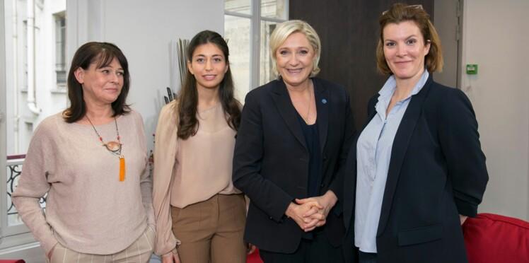 Marine Le Pen dévoile son programme aux lectrices de Femme Actuelle