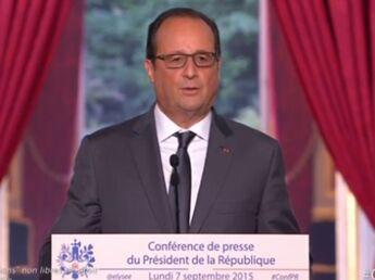 Migrants, impôts, 35 heures : les annonces de Francois Hollande