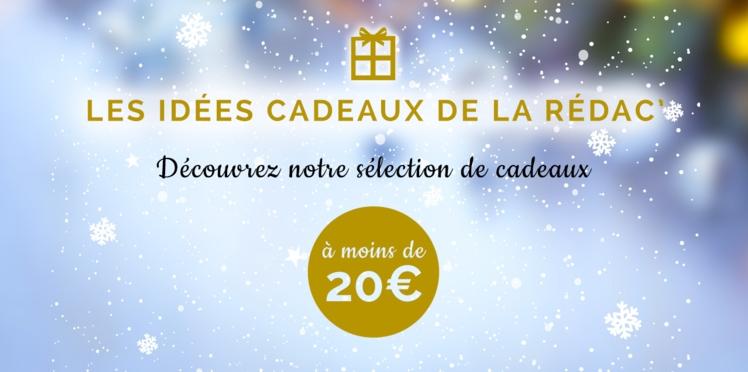 Nos idées de cadeaux de Noël à moins de 20 euros