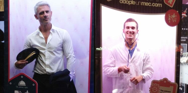 Adopte un mec : les photos des hommes en vitrine