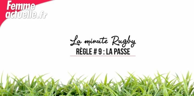 Comment se fait une passe au rugby ?