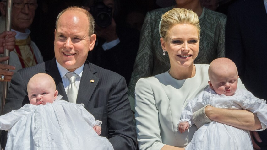 Photos : le baptême des jumeaux de Charlène et Albert de Monaco