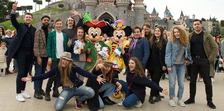 Photos - Les finalistes de The Voice 7 chantent à Disneyland Paris contre le cancer
