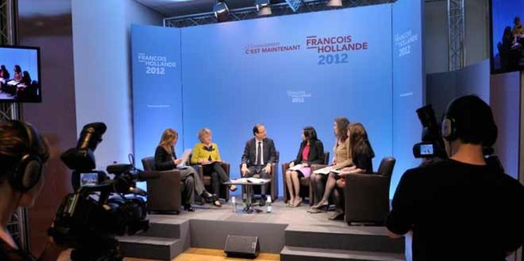 """François Hollande : """"Le congé paternité obligatoire, pourquoi pas?"""""""