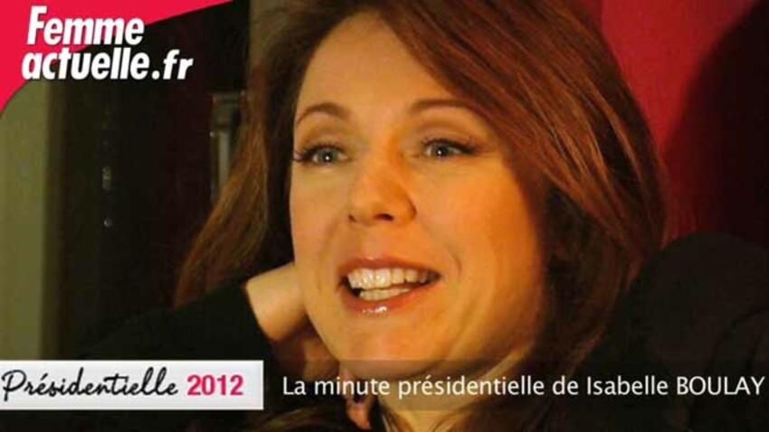 La minute présidentielle d'Isabelle Boulay