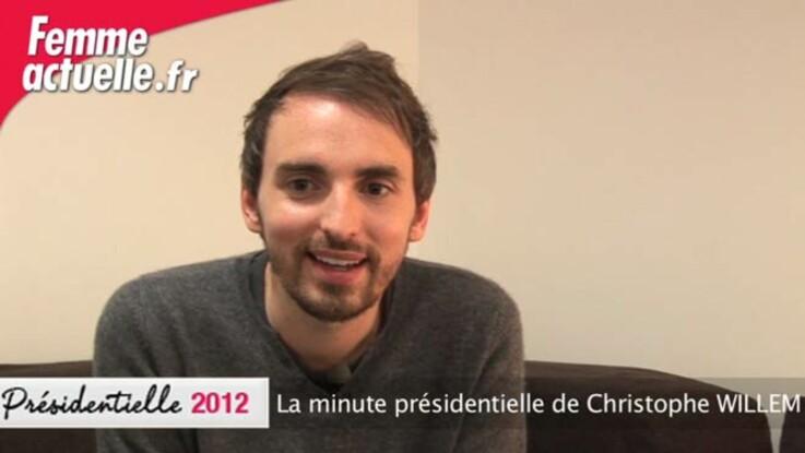La minute présidentielle de Christophe Willem