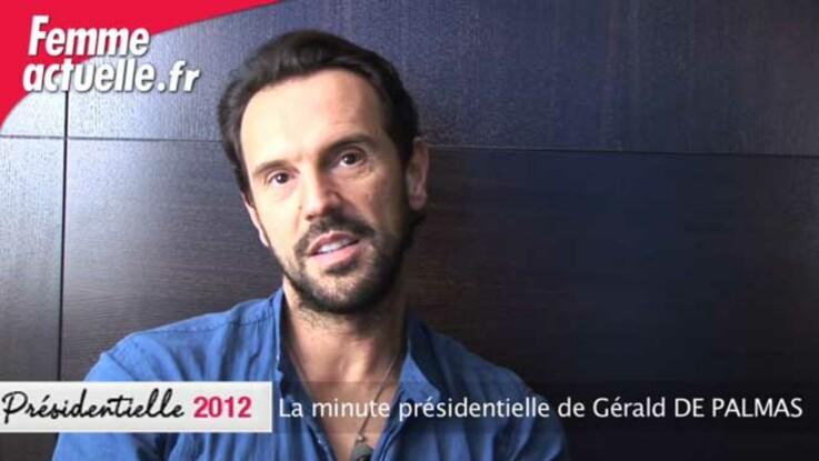 La minute présidentielle de Gérald De Palmas