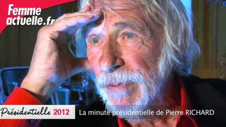 La minute présidentielle de Pierre Richard