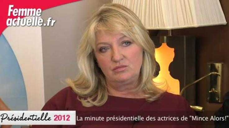 La minute présidentielle des actrices du film Mince alors !