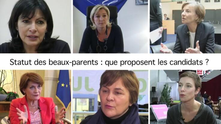 Statut des beaux-parents : les engagements des candidats