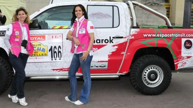 Rallye des gazelles 2012 : c'est parti pour l'équipage Femme Actuelle