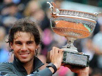 Rafael Nadal, au septième ciel sur terre battue