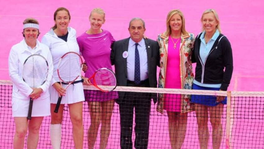 Roland Garros : un court tout rose pour la journée de la femme