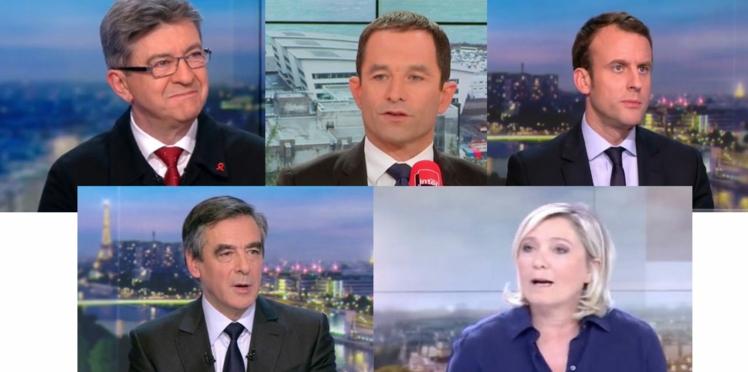 Emploi, chômage, retraite: que proposent ces 5 candidats?