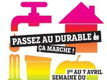 Semaine du Développement durable : 3 000 événements organisés à travers la France
