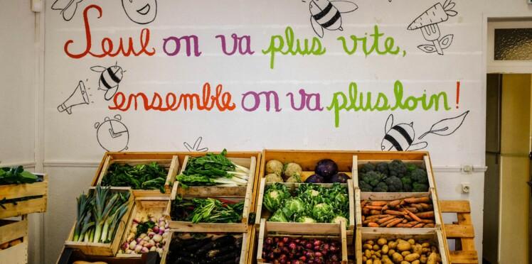 Caisse, vente, stock...Dans ce supermarché, le client fait tout !