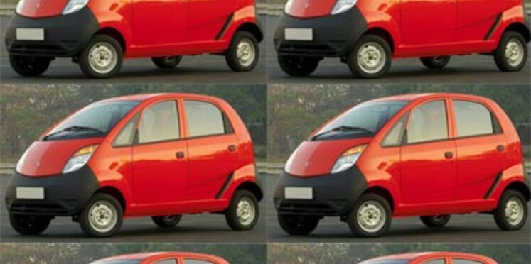 Tata Nano, la voiture la moins chère du monde