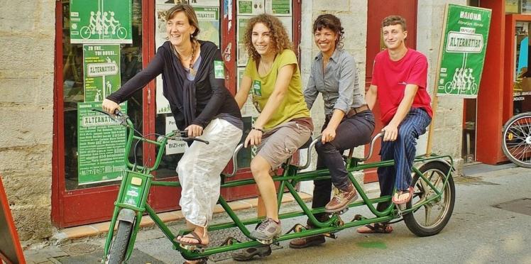 Tour cycliste pour le climat: elles roulent pour l'écosystème