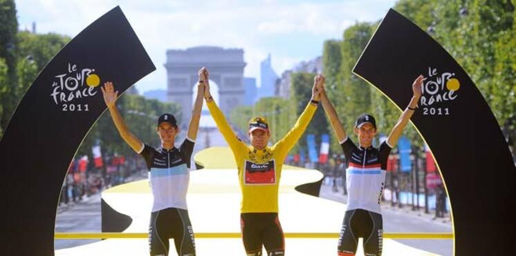 Tour de France 2011 : les gagnants