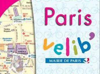 Un plan de poche Paris Vélib'2008