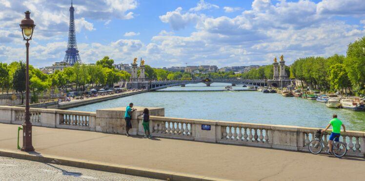 Elle a sauté d'un pont de la Seine pour sauver un homme