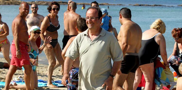 Les hommes politiques en vacances, c'est pas de tout repos !
