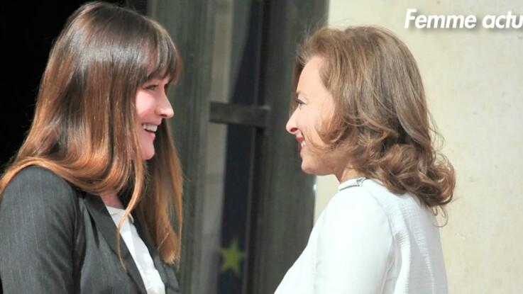 """Valérie Trierweiler: """"Tout ce que m'a dit Carla Bruni était juste"""""""
