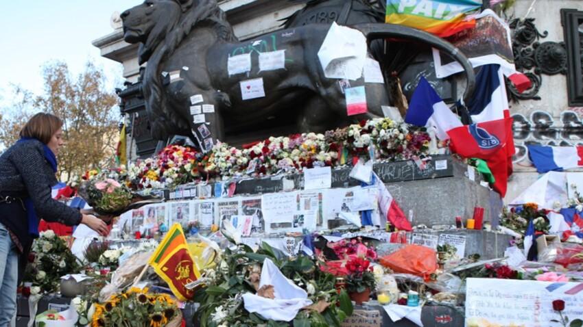 Place de la République, des citoyennes entretiennent la mémoire des victimes