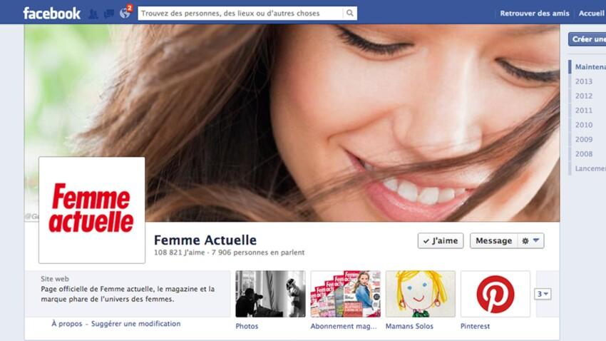 Femme Actuelle sur Facebook, mode d'emploi